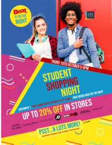 Student Discount Poster 2019